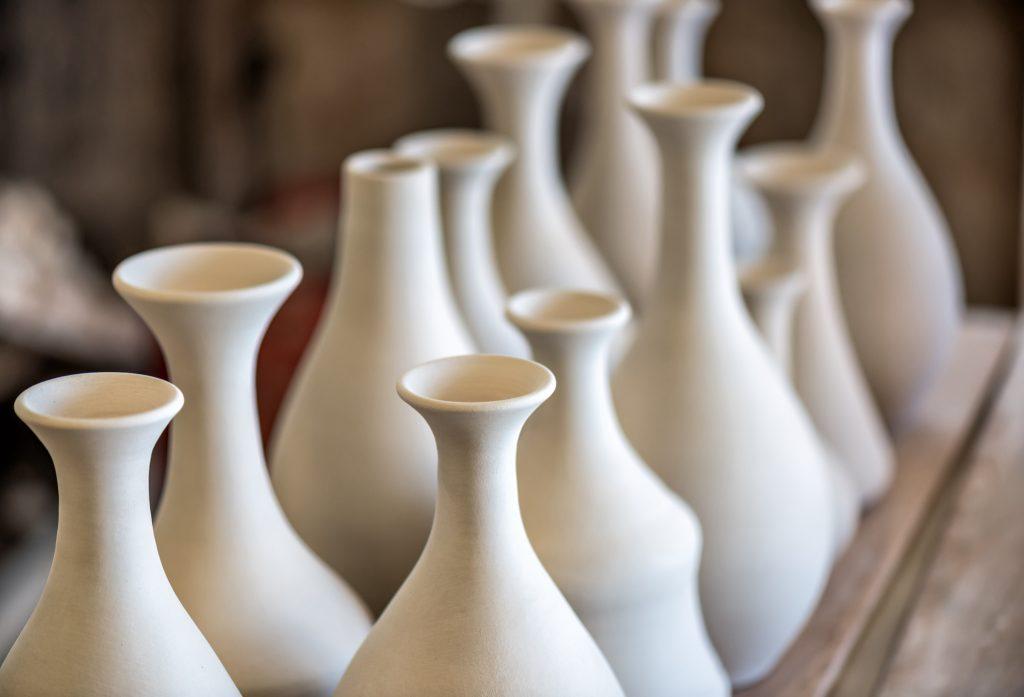 Vases en gres