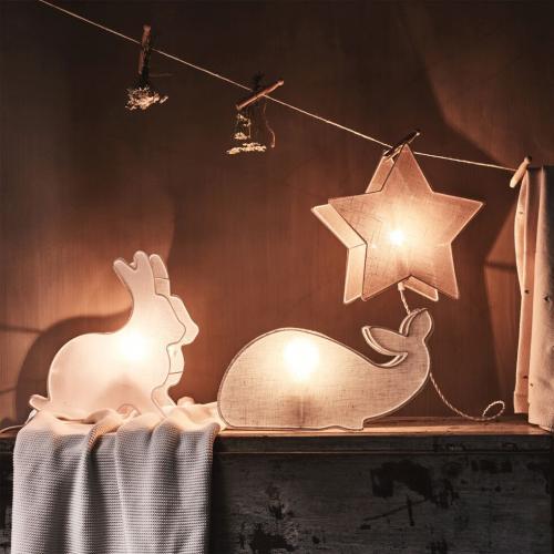 Lampe forme lapin