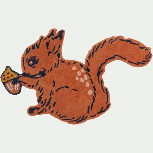 Tapis écureuil