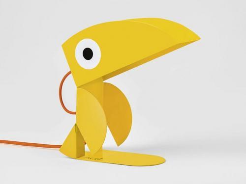 Lampe de chevet toucan