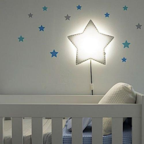Applique murale étoile
