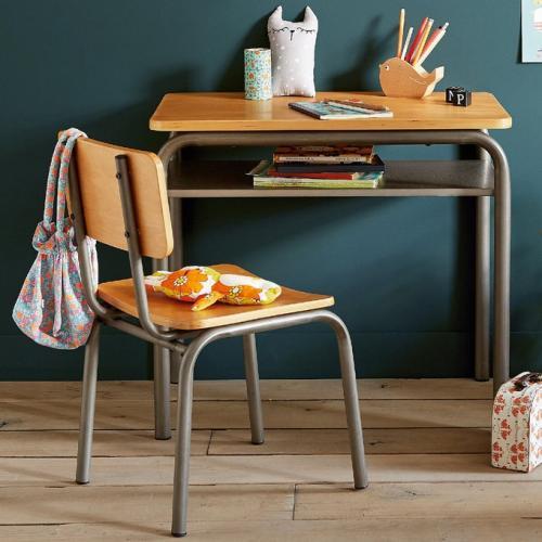 Bureau et chaise écolier